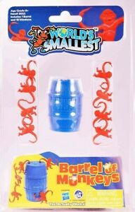 World's Smallest Barrel Of Monkey [New Toy] Interactive Game