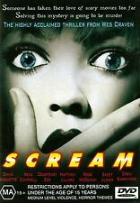 SCREAM (Wes Craven) - ORIGINAL CLASSIC  Region 4 DVD
