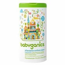 Babyganics 75 Count Fragrance Free All Purpose Wipes