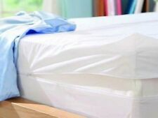 Fullcover Zipped Waterproof Mattress Cover Double size 135 x 200 x 23cms