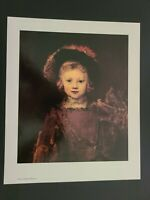 Rembrandt Norton Simon Museum Art Print DUTCH Portrait of the Artist's Son Titus