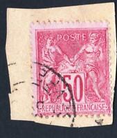 N°:98  - OBLITERE      TYPE SAGE  SANS DEFAUTS    CV : 3 €