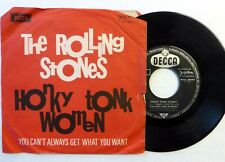 ROLLING STONES 45 Honky Tonk Women/You Can't Always Get... DECCA rock h1009