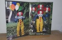 """NECA (1990 IT THE MOVIE) ULTIMATE PENNYWISE 7"""" SCALE ACTION FIGURE (VERSION 1)"""