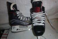 youth boys sz 1 Bauer Vapor X600   Hockey   ice skates  REAL NICE