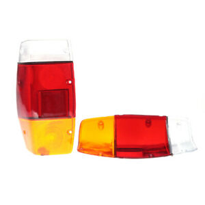 FIT FOR DATSUN 120Y B210 REAR NEW TAIL LIGHT LENS PAIR LEFT RIGHT SIDE REAR NEWS