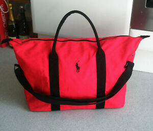 Ralph Lauren Polo Red Weekend / Travel / Gym / Holdall / Duffle Bag. FREE P+P