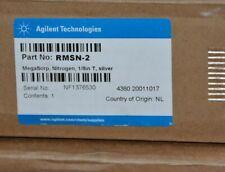 New in Box Agilent MegaSorp Big Universal Trap Nitrogen 1/8 T Silver RMSN-2