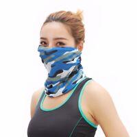 Camo Headwear Bandanas Sport Men Women Camouflage Head Scarf Face Mask~