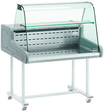 Kühlvitrine Kühltheke Verkaufstheke für Lebensmittel 1000x930x660mm Gastlando