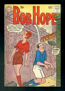 ADVENTURES OF BOB HOPE #64 DC 1960 VG/FN