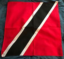 NEW TRINIDAD TOBAGO BANDANA COUNTRY PRIDE FLAG DURAG HEAD WRAP