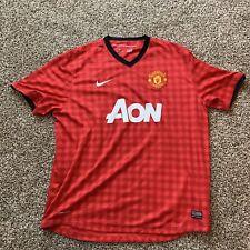 Manchester United Red Devils Nike DriFit Soccer Jersey Mens XXL e2b0b7dd3
