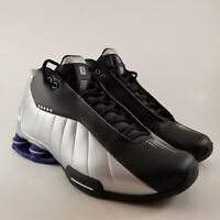 "Men's Nike Shox BB4 ""Vince Carter"" Size-11.5 Metallic Silver Black (AT7843 001)"