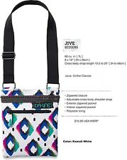 NEW Dakine Jive White Kamali Womens Small Purse Shoulder Hand Bag Wallet Msrp$15