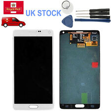 LCD Display Touch Screen Digitizer for Samsung Galaxy Note 4 SM-N910A White #UK
