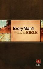 Every Man's Bible NLT (2014, Hardcover)