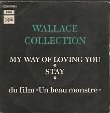 """45 TOURS / 7"""" BOF/OST UN BEAU MONSTRE--WALLACE CONNECTION--MY WAY OF LOVING YOU"""
