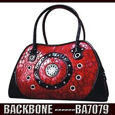 Backbone Vintage Pattern Diamonte Leather  Bird Dog Cat Pet Carrier 60% BA7079