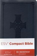 Pocket Bible, ESV, Dark Blue Celtic Cross Design, New & Sealed