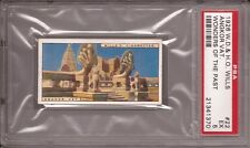 1926 Wills Wonders of the Past Tobacco Card #22 Angkor Vat graded PSA 5 EX