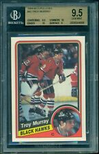 BGS 9.5 1984 85 OPC TROY MURRAY RC ROOKIE CARD GEM MINT w/10's