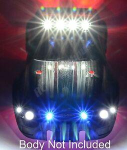 RC LED Light Set for Traxxas E-Maxx, Stampede E-Revo or HPI FLUX, Savage #20 BLK