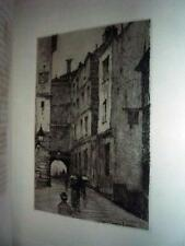 8 Original Etchings 1883 LtdEd Lamb Elia Essays, Smillie Platt Gifford FS Church