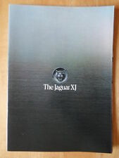 JAGUAR XJ 5.3 V12, 4.2 & 3.4 Saloons orig 1978 UK Mkt prestige brochure - MINT