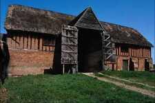 802079 Tudor Barn Little Wenham Suffolk England UK A4 Photo Print