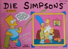 """1 Sammelbild für das Sammelalbum """"Die Simpsons"""" (1991) Panini Homer Bart Pro7"""