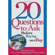 20 Questions to Ask Before Buying on EBay (20 Questions),Lewis, Michael,Excellen