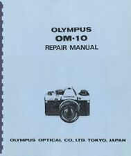 Olympus Om-10 Service & Repair Manual Reprint