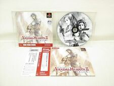 VANDAL HEARTS II 2 PS Playstation PS One Books Japan Game * p1