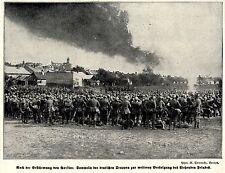 1915 * Nach der Erstuermung von Gorlice: Sammeln *  WW1