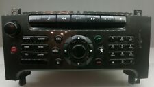 PEUGEOT 607 RADIO CAR AUDIO AUTORADIO 96632921TP RT3 NAVIGATION GPS