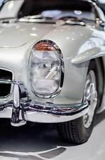 Leinwand Bild Mercedes Benz 300 SL Roadster 1957 Klassiker Chrom Auto Bilder SLR
