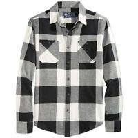 American Rag Mens Shirt Classic Black Size XL Plaid Button Down $45- 219