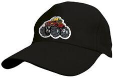 Los niños baseballcap cap gorra agotado negro con Stick monstruo Truck 69127