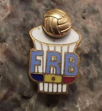 Romanian Romania Basketball Federation Association FRB 3D Ball Members Pin Badge