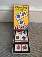 VINTAGE RETRO RAVENSBURGER PICTURE DOMINO GAME TOY DOMINOES KIDS CHRISTMAS GIFT