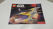 Lego starwars!!! instructions ONLY!!! pour 7660 Naboo Starfighter