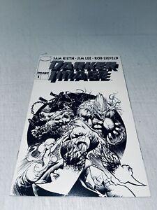 Darker Image #1 B & W Variant(platinum) Keith Liefeld Lee 1st MAXX & Deathblow
