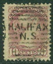 CANADA : 1877. Scott #40 Used. Beautiful stamp with great color. Catalog $100.00