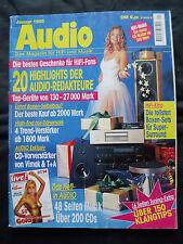 AUDIO 1/95 AOS ASCOT,AUDAX PRAXIS,INTERTECHNIK EX 1,VISATON AUDIENCE,ELAC CINEMA