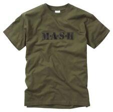 Green Retro Regular T-Shirts for Men