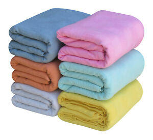 High Quality Cellular Blanket - Durable Long Lasting Thermal Throw for Bed