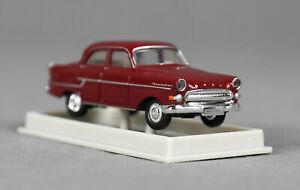 BREKINA 20883 (H0, 1:87) Opel Kapitän, dunkelrot, 1956, TD - NEUWARE!