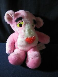 Pink Panther Plush Stuffed Animal 1980 Vintage
