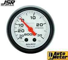 94-04 Mustang Autometer Mechanical Phantom 2in Boost-Vacuum Gauge 30PSI & 30Hg